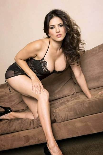 Sunny Leone snapped in hot lingerie