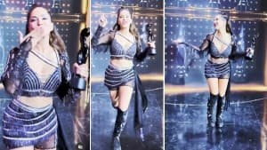Sunny Leone's Bewitching Pictures in Black Co-ords Is Setting The Internet on Fire