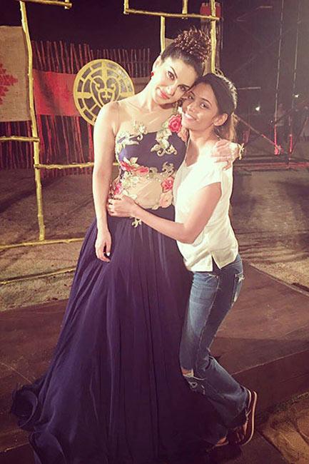Sunny Leone with sister in law Karishma Naidu