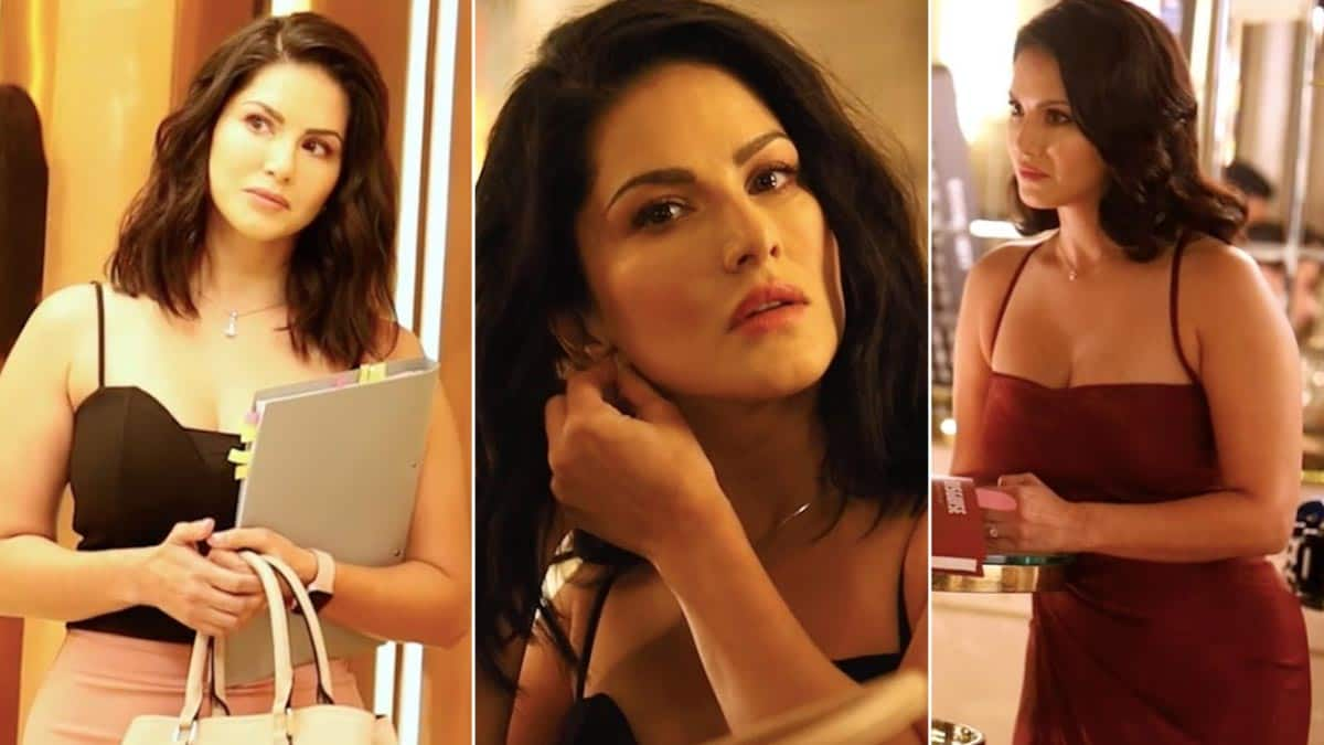 Sunny Leone   s Sizzling BTS Photos From a Condom Brand Shoot