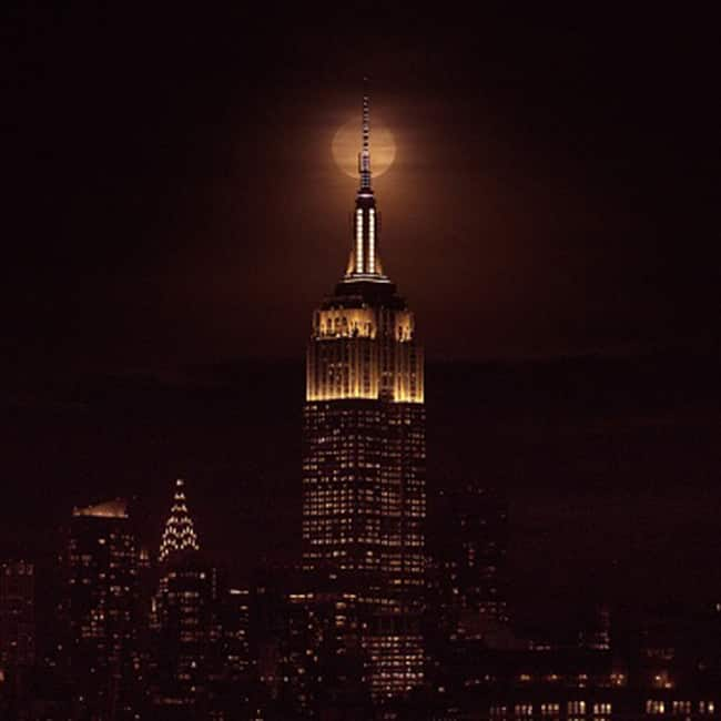 Super Blue Blood Moon view from New York