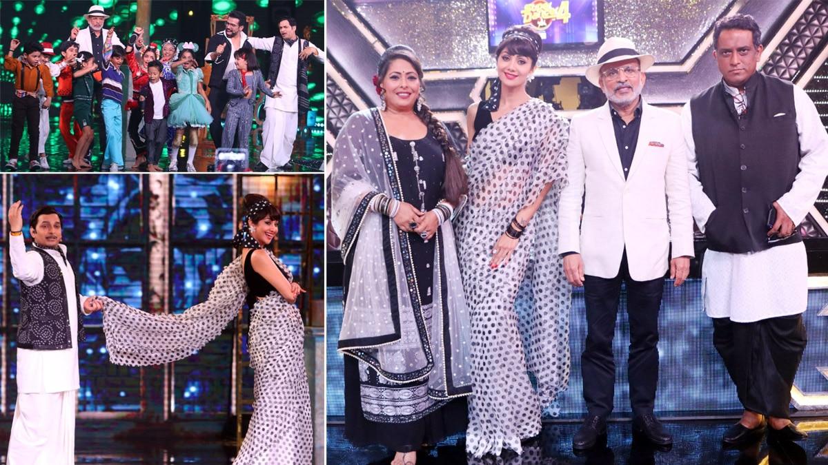 Super Dancer 4 retro special  Shilpa Shetty  Geeta Kapur celebrate the black and white era