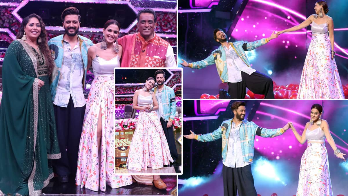 Super Dancer Chapter 4 Welcomes Riteish Deshmukh Genelia D Souza