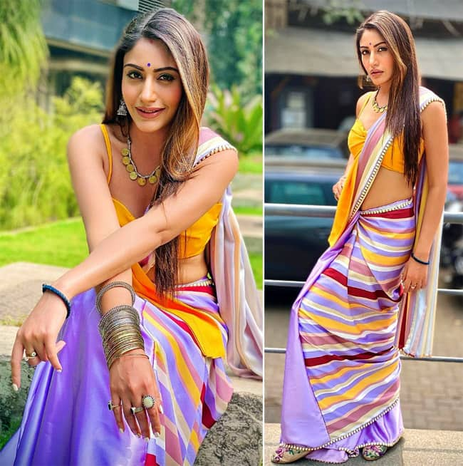 Surbhi Chandna is known for her role as Bani in Naagin 5