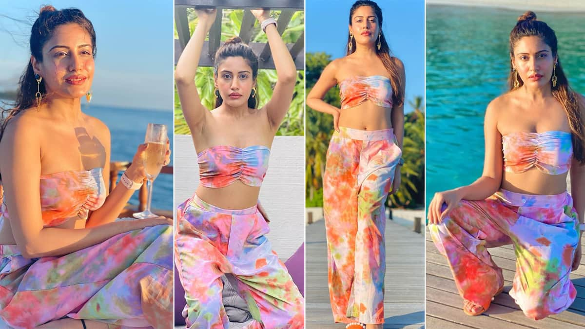 Surbhi Chandna Looks Hot In Sun kissed Pictures From Her Maldives Vacay