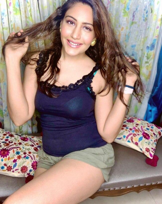 Surbhi Chandna Looks Sizzling Hot