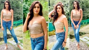 Surbhi Chandna Sets The Internet On Fire With Her Bralette and Denim Combination| See Photos