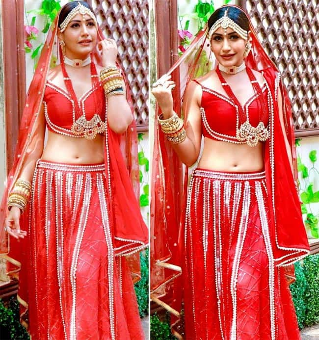 Surbhi Chandna s bridal look from Naagin 5
