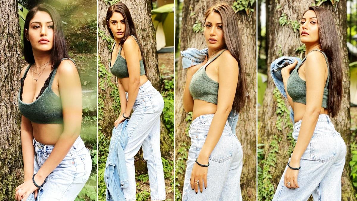 Surbhi Chandna   s Chic Look In Crop Top Denim Is Impressive