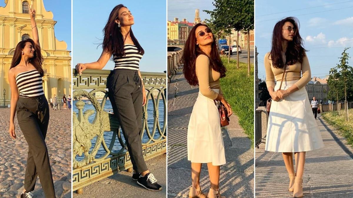 Surbhi Jyoti Vacationing In Russia