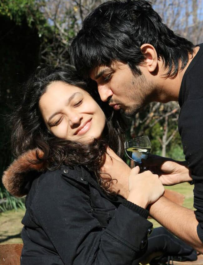 Sushant Singh Rajput and Ankita Lokhande s mushy picture