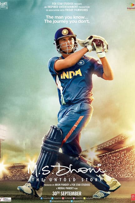 Sushant Singh Rajput starrer    MS Dhoni  The Untold Story