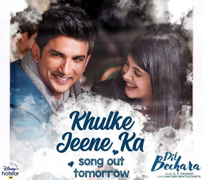 Sushant Singh Rajput   s Dil Bechara Based on    Fault In Our Stars