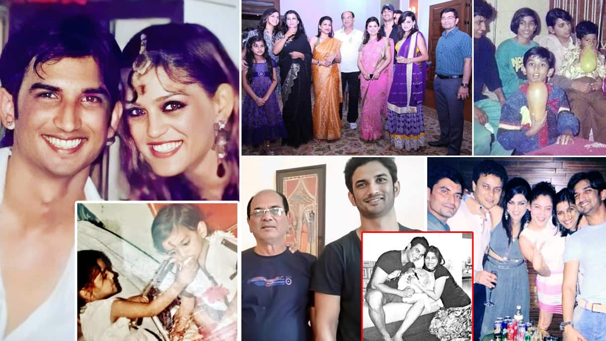 Sushant Singh Rajput   s family pictures are super adorable