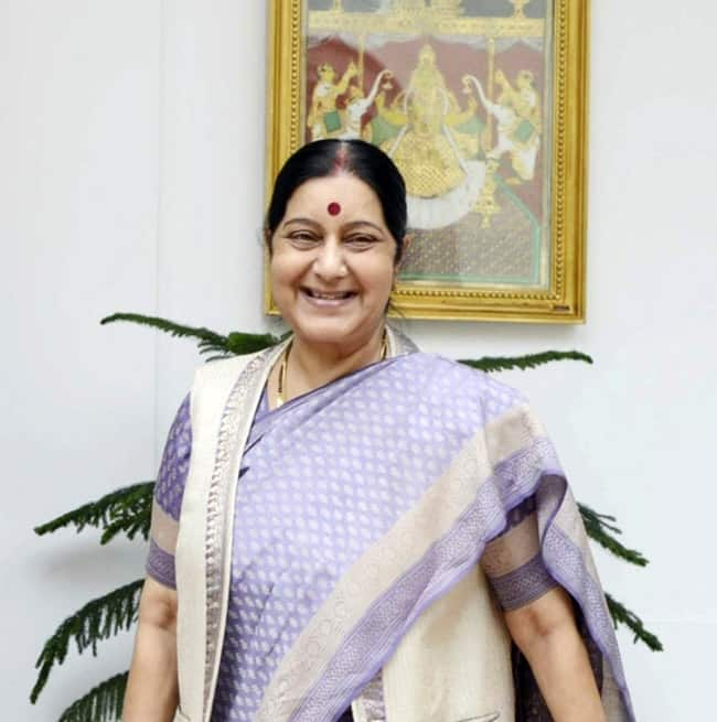 Sushma Swaraj Becomes Youngest State Cabinet Minister