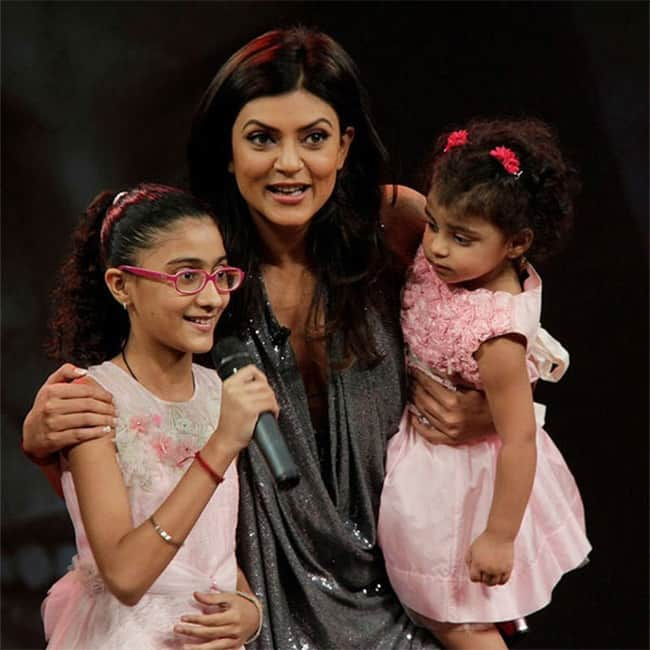 Sushmita Sen adopted two baby girls Renee and Alisah