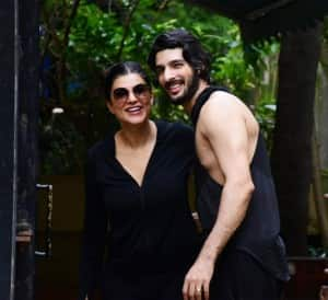 Sushmita Sen Twins With Boyfriend Rohman Shawl in New Viral Photos