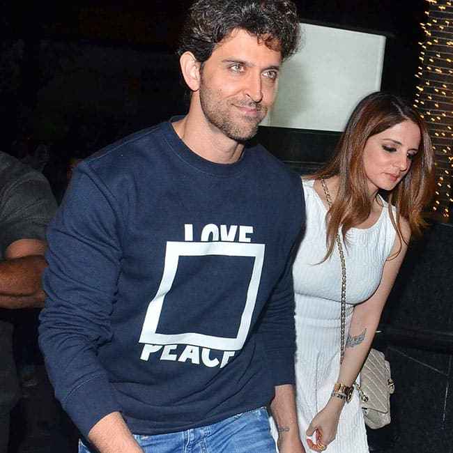 Sussanne Khan joins Hrithik Roshan for his 43rd birthday bash