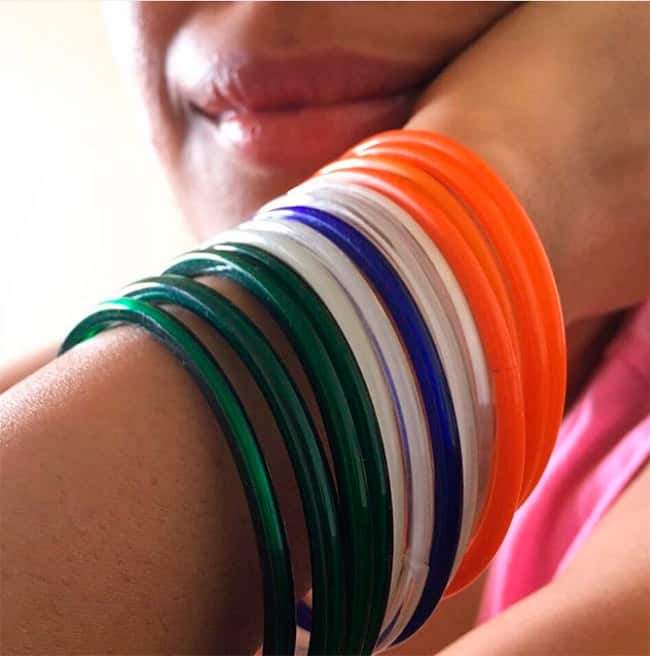 Swara Bhaskar and her unique set of bangles for the occasion