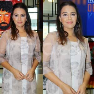 Swara Bhasker Looks Lovely at an Event But What's Wrong With Her Makeup?
