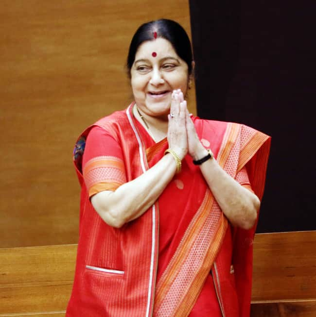 Swaraj Takes Charge as Second Woman in Parliament