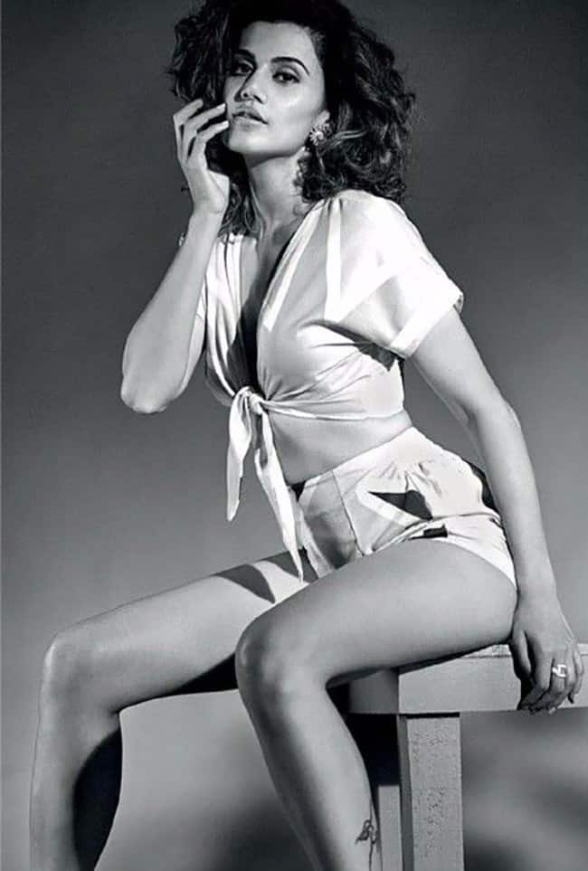 Taapsee Pannu flaunts curves in sexy photoshoot