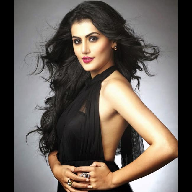 Taapsee Pannu poses for a smoking hot picture