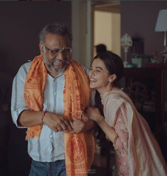 Taapsee Pannu wrote an emotional note for Thappad director Anubhav Sinha