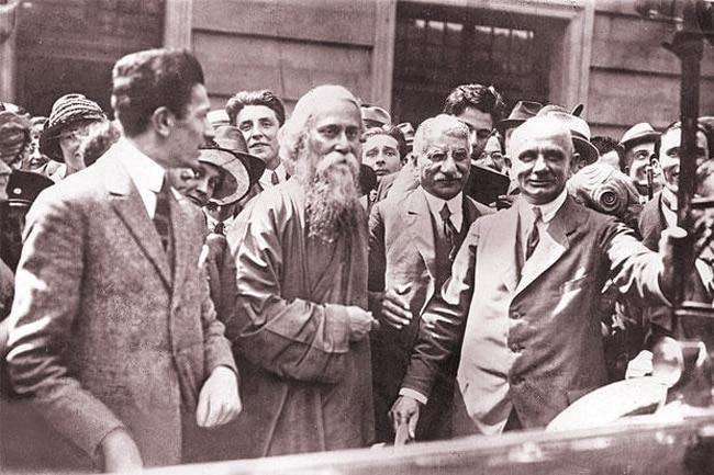 Tagore was an avid traveler