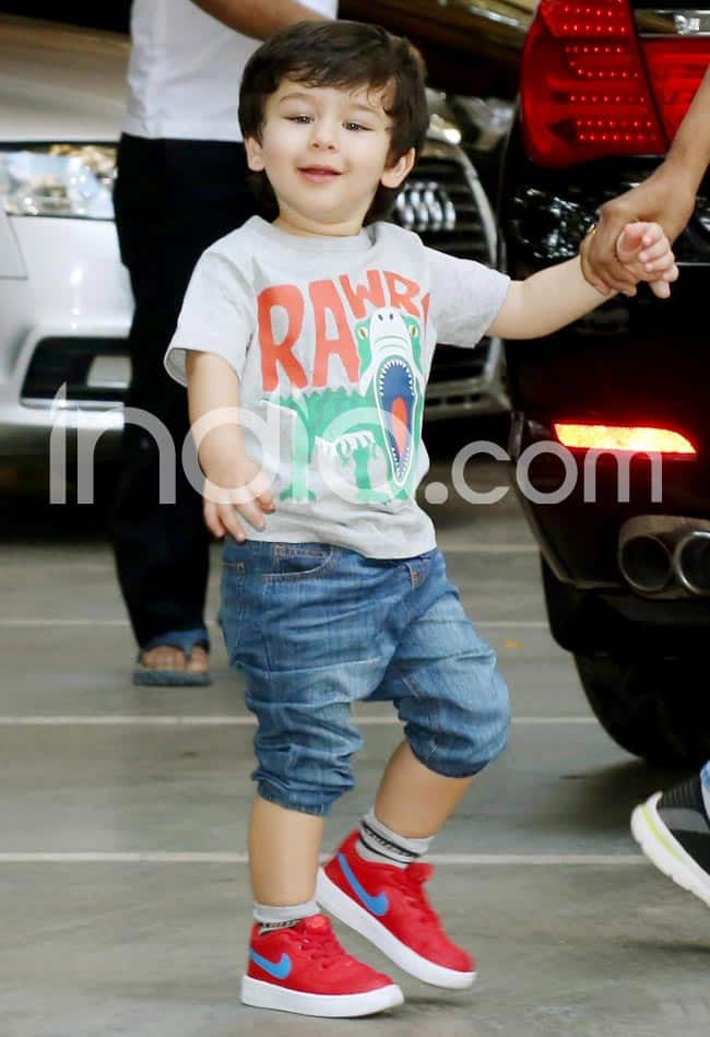 Taimur Ali Khan And Inaaya Kemmu Snapped Outside Their Playschool And The Pictures Are Too Aww dorable