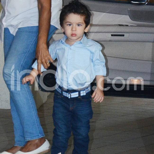 Taimur Ali Khan looks angry