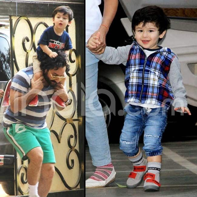 Taimur Ali Khan poses again