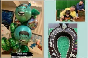 Taimur Ali Khan's Horseshoe Birthday Cake to Hulk Balloons, Here Are Some More Party Pictures