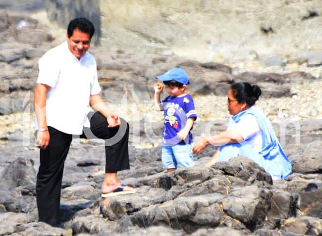 Taimur is in Love With The Rocky Lands