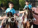 Taimur And Inaaya Chill Outdoors