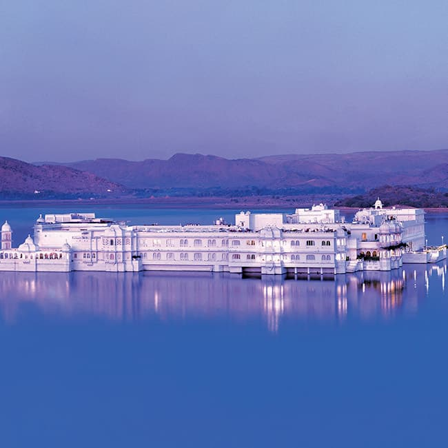 Taj Lake Palace or Jag Niwas in Lake Pichola  Udaipur