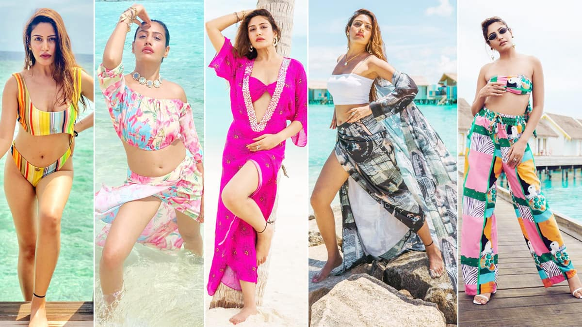 Take a Cue From Telly Star Surbhi Chandna   s Wardrobe on How to Nail a Beach Vacation