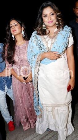 Amid #MeToo Movement, Tanushree Dutta Clicked at a Dandiya Event With Sister Ishita