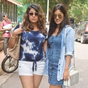 Aashiq Banaya Aapne Actress Tanushree Spotted With Sister Ishita Dutta