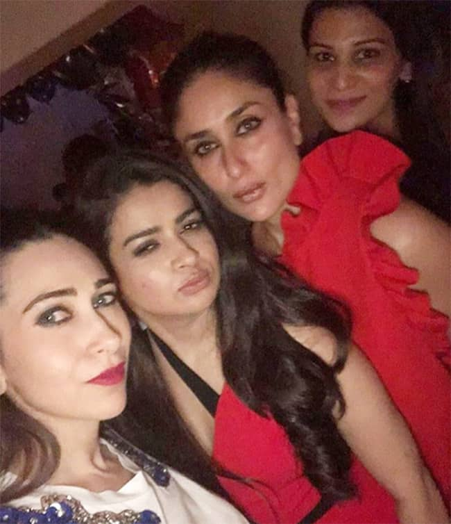Tanya Ghavri celebrated her birthday with best friends Kareena Kapoor Khan  Karisma and Jacqueline