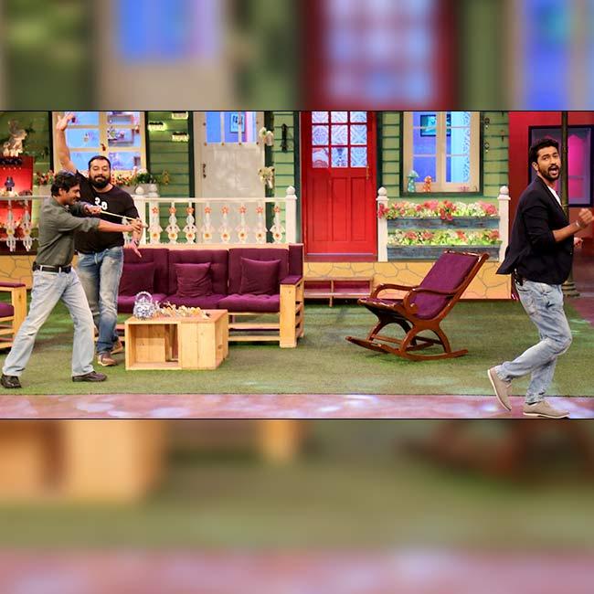 Team of Raman Raghav 2 0 having fun on sets of The Kapil Sharam Show