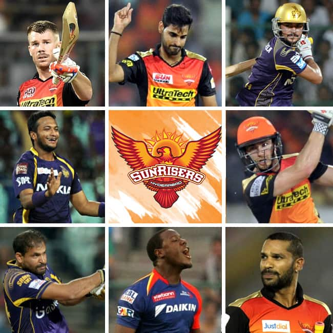 Team squad Sunrisers Hyderabad of IPL 2018