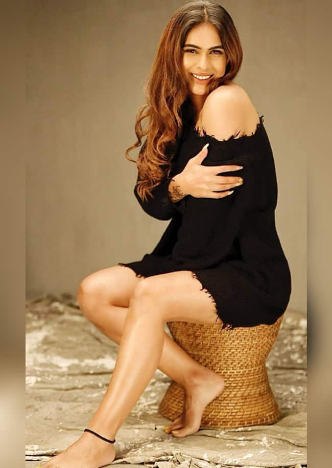 Telugu beauty is looking too hot to handle in a sexy little black dress