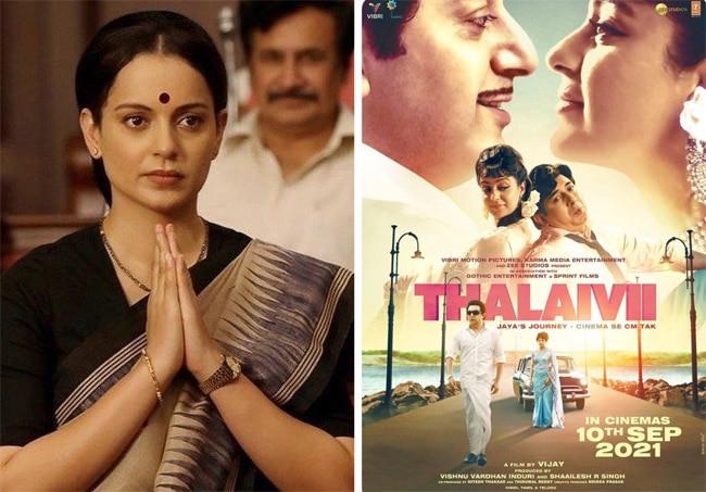 Thalaivii actor Kangana Ranaut and the films she said no to