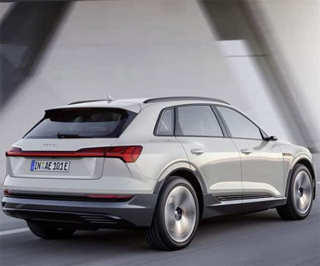 The Audi E Tron SUV is company s first ever fully electric car