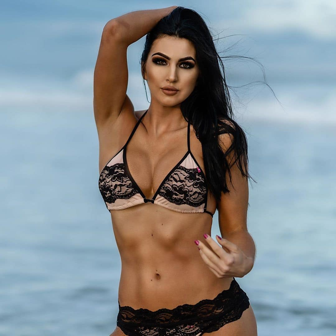 The Beautiful Billie Kay in a Hot Pose