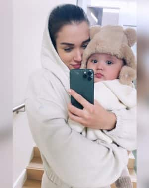 Amy Jackson's Photos With Son Andreas, Hubby George go Viral, Have a Look