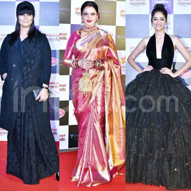 The divas at the red carpet of Star Screen Awards 2019