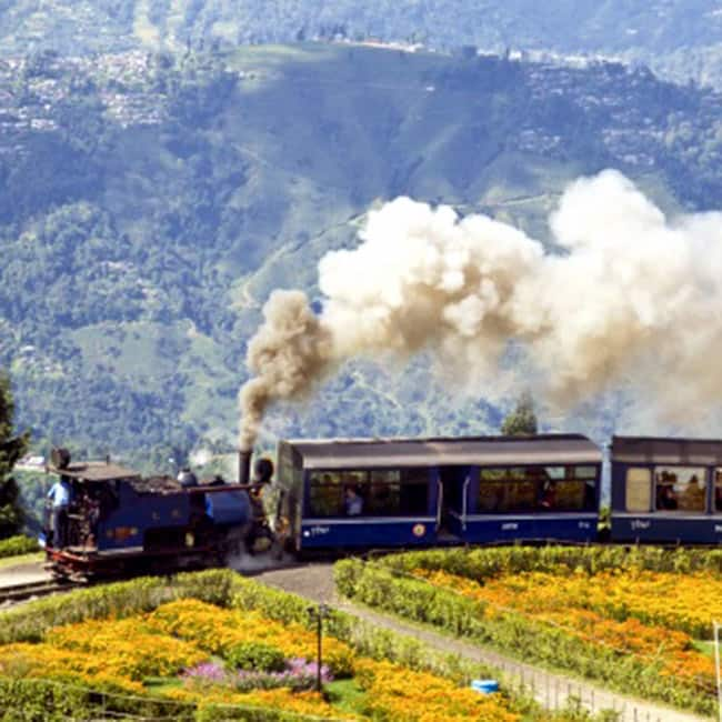 The Joy Ride of Darjeeling in July