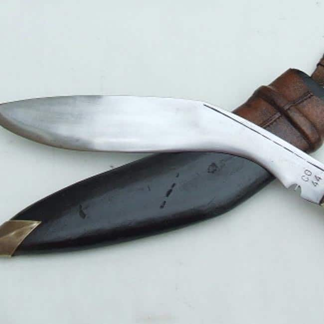 The    Khukuri    or Gurkha blade is an Indian weapon which is the pride of Gorkhas